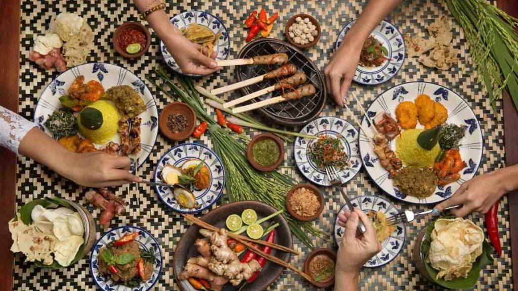 Foto Makanan dari timur Indonesia