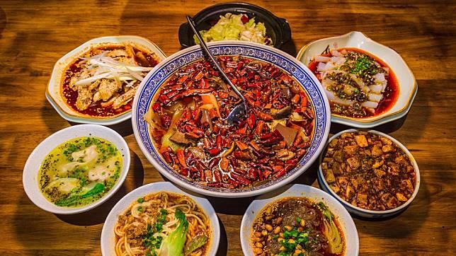 Makanan dari Sichuan